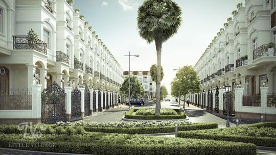 Litte Village: Khu biệt thự xanh trong lòng thành phố - Ảnh 1.