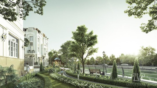 Litte Village: Khu biệt thự xanh trong lòng thành phố - Ảnh 2.