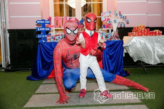 Dàn sao Việt mừng sinh nhật hoàng tử nhà Hoa hậu Bùi Thị Hà - Ảnh 2.