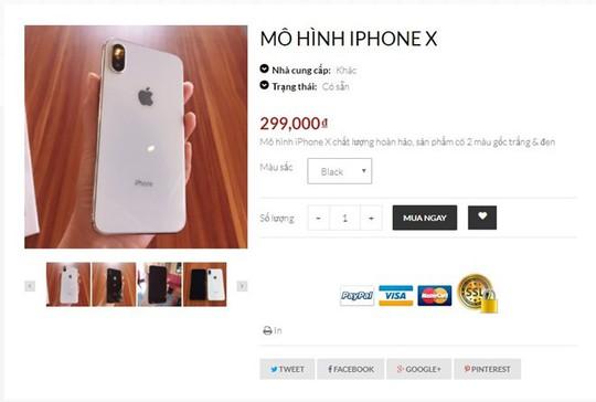 Bỏ 22 triệu mua iPhone X, nhận được mô hình tại Sài Gòn - Ảnh 1.