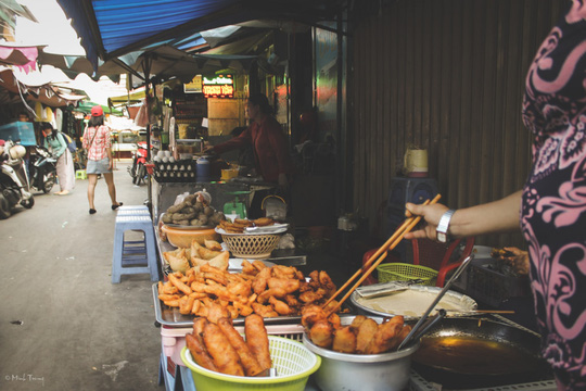 Sắc màu bình dị tại chợ hoa lớn nhất Sài Gòn - Ảnh 11.