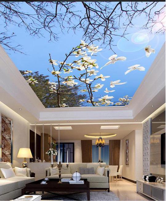 Đẹp kinh ngạc với trần nhà 3D - Ảnh 11.