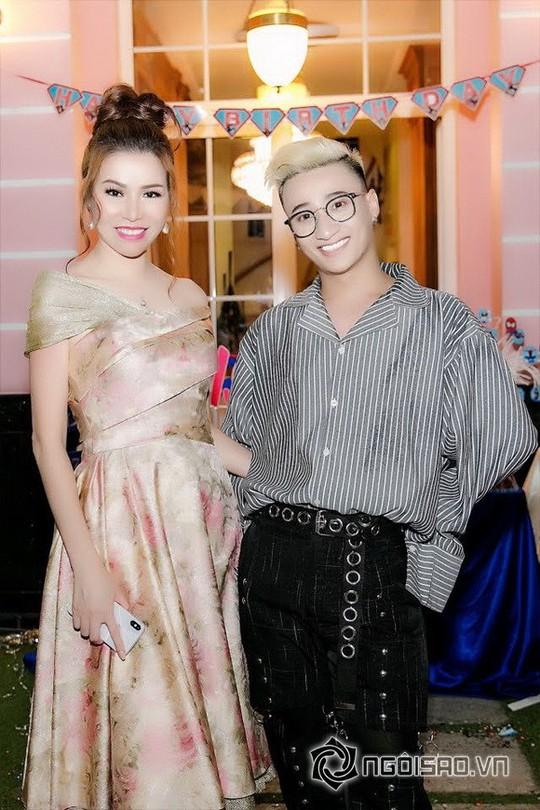 Dàn sao Việt mừng sinh nhật hoàng tử nhà Hoa hậu Bùi Thị Hà - Ảnh 10.