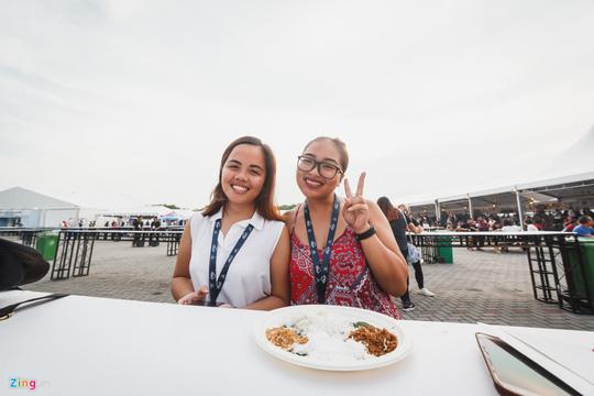 Bánh bèo, bánh xèo Việt Nam xuất hiện ở Đại hội ẩm thực thế giới - Ảnh 12.