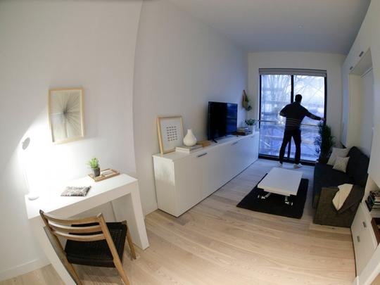 Cảnh sống ngột ngạt ở những căn nhà rộng vài m2 khắp thế giới - Ảnh 12.