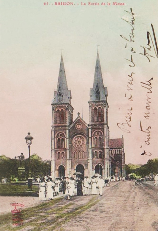 Tiền thân của Nhà thờ Đức Bà là một ngôi chùa nhỏ - Ảnh 12.
