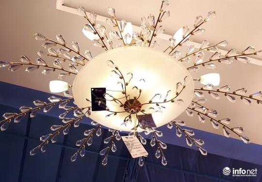 Ngắm đèn chùm giá nửa tỷ đồng thả dáng đẹp hút hồn - Ảnh 12.