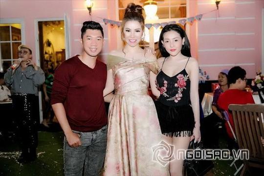 Dàn sao Việt mừng sinh nhật hoàng tử nhà Hoa hậu Bùi Thị Hà - Ảnh 11.