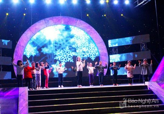 Hàng ngàn người chiêm ngưỡng giáo xứ trang trí đẹp nhất Nghệ An - Ảnh 13.