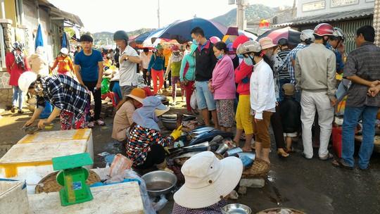Nhộn nhịp chợ cá đầu năm