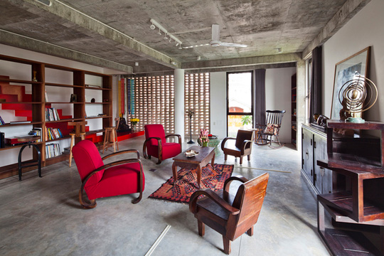Bí ẩn sang chảnh trong ngôi nhà mái lá giữa Sài Gòn - Ảnh 14.