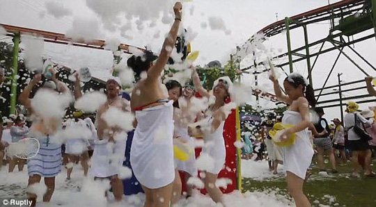 Khám phá công viên giải trí nước nóng đầu tiên trên thế giới - Ảnh 6.