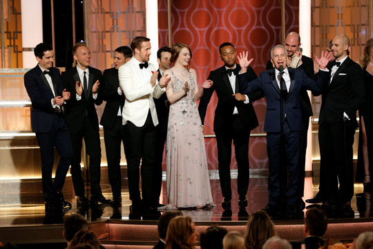 Phim La La Land thắng lớn