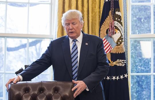 Tổng thống Donald Trump Ảnh: EPA