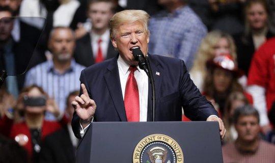 Tổng thống Donald Trump Ảnh: AP