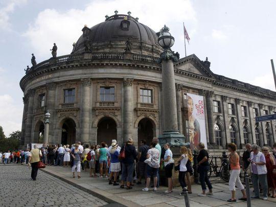Bảo tàng Bode ở thủ đô Berlin – Đức. Ảnh: