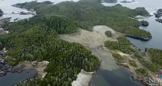Ngôi làng cổ 14.000 năm tuổi được phát hiện ở Canada. Ảnh CTV News.
