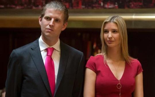 Eric và chị gái Ảnh: REUTERS
