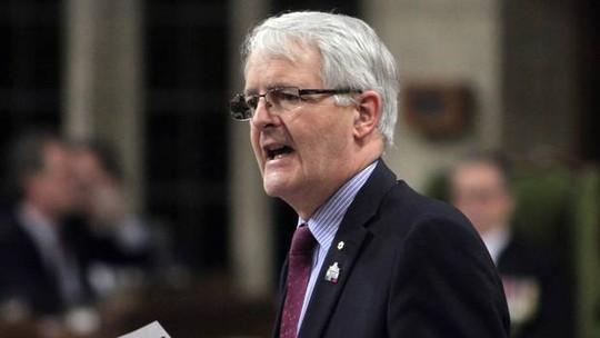 Bộ trưởng Giao thông Vận tải Canada Marc Garneau. Ảnh: CANADIAN PRESS