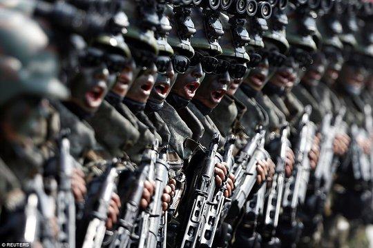 Lực lượng đặc biệt này được thành lập để đối phó với những binh lính tinh nhuệ Mỹ trong trường hợp chiến tranh nổ ra. Ảnh: REUTERS