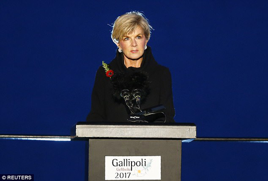 Tờ Rodong Sinmun chỉ trích bình luận của Bộ trưởng Ngoại giao Úc Julie Bishop. Ảnh: Reuters