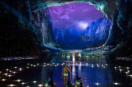 Bí mật đằng sau màn biểu diễn nước lớn nhất thế giới ở Macau - Ảnh 3.