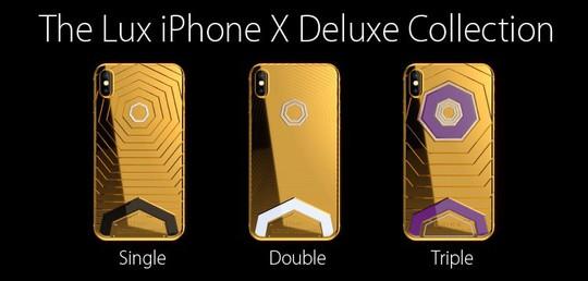 Phát sốt với iPhone X mạ vàng giá 1,5 tỉ vừa lộ diện - Ảnh 3.