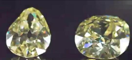 Ngắm hai viên kim cương vàng lớn nhất thế giới đấu giá hôm nay - Ảnh 3.