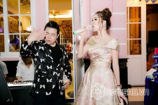 Dàn sao Việt mừng sinh nhật hoàng tử nhà Hoa hậu Bùi Thị Hà - Ảnh 3.