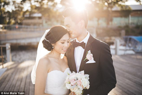 Cả hai kết hôn tại Sydney – Úc. Ảnh: Ann Marie Yuen