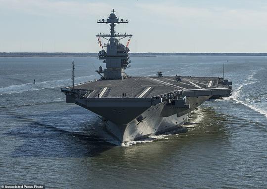 Tàu có khả năng tàng hình trước hầu hết các loại radar hiện có. Ảnh: AP