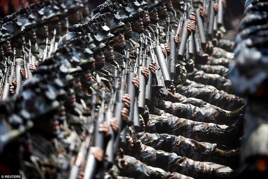 Binh sĩ thuộc biệt đội này là những người được đào tạo bài bản, trang bị đầy đủ các trang thiết bị và có năng lực nhất trong lực lượng quân đội Triều Tiên. Ảnh: REUTERS