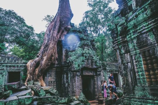 Ta Prohm - ngôi đền của những rễ cây kỳ dị - Ảnh 4.