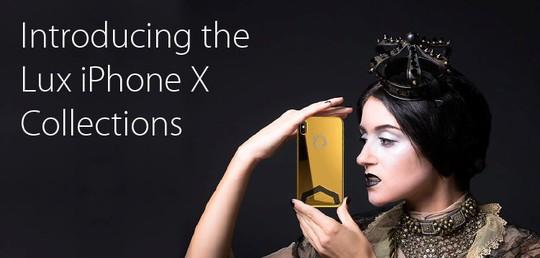Phát sốt với iPhone X mạ vàng giá 1,5 tỉ vừa lộ diện - Ảnh 4.