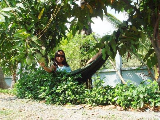 Vườn cây ăn trái 4 tỉ đồng như công viên của bà mẹ 2 con tại TP HCM - Ảnh 4.