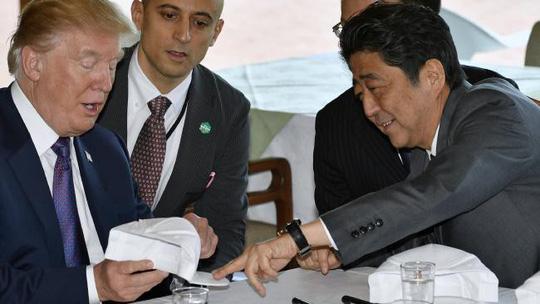 Thủ tướng Shinzo Abe tặng gì cho Tổng thống Donald Trump? - Ảnh 4.