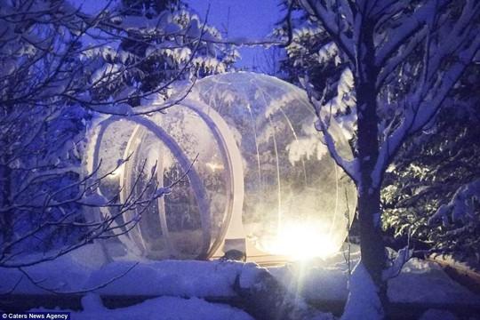 Phòng khách sạn trong suốt ở Iceland - Ảnh 3.