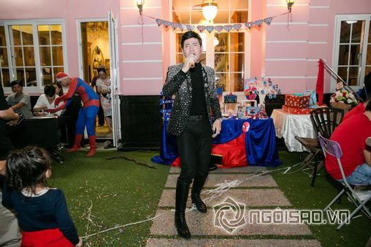Dàn sao Việt mừng sinh nhật hoàng tử nhà Hoa hậu Bùi Thị Hà - Ảnh 4.