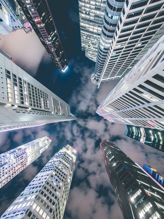 Những tòa nhà cao chọc trời