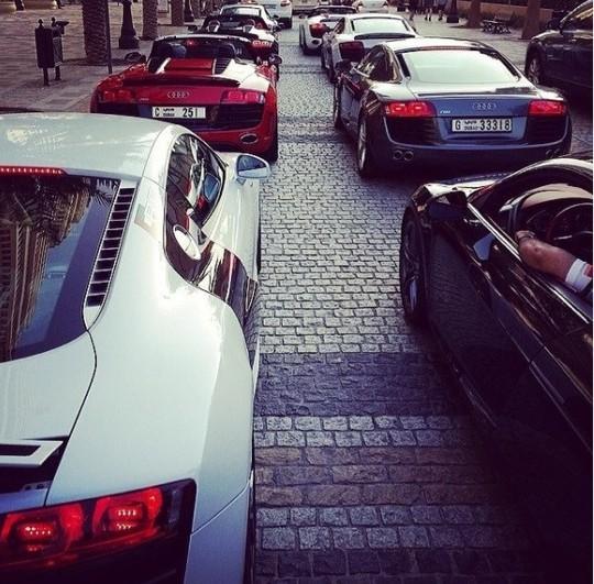 Cuộc sống của hội con nhà giàu Dubai - Ảnh 5.