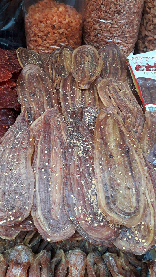 Đặc sản Thái Lan, Campuchia đổ bộ chợ truyền thống - Ảnh 5.