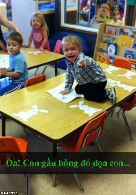 """Chết cười với những màn """"quậy"""" của trẻ em - Ảnh 5."""