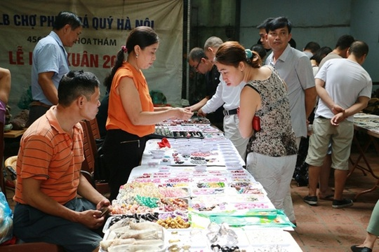 Chợ đá quý độc nhất vô nhị ở Hà Nội - Ảnh 5.