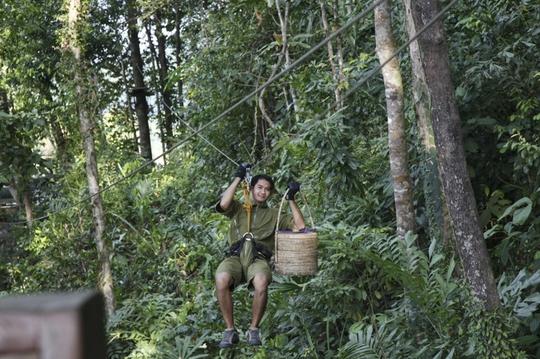 Đến Thái Lan tận hưởng bữa tiệc lơ lửng trên cây - Ảnh 5.