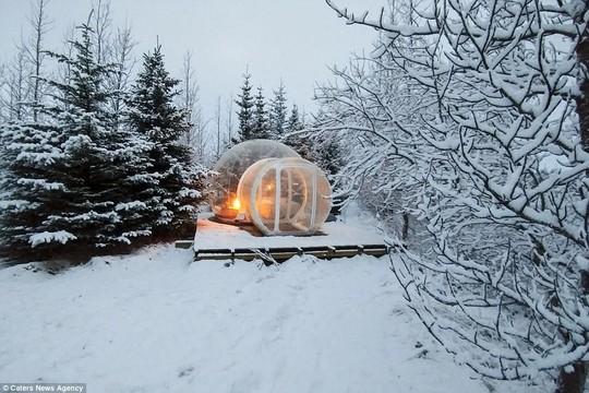 Phòng khách sạn trong suốt ở Iceland - Ảnh 4.
