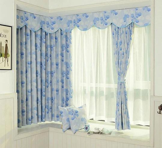 Nguyên tắc vàng khi chọn rèm cửa để căn phòng không bị rối mắt - Ảnh 4.