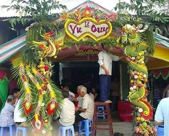 Chùm ảnh: Về miền Tây dự đám cưới có cổng lá dừa - Ảnh 5.