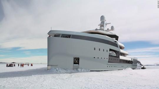 Siêu du thuyền có khả năng phá băng như tàu chiến - Ảnh 5.