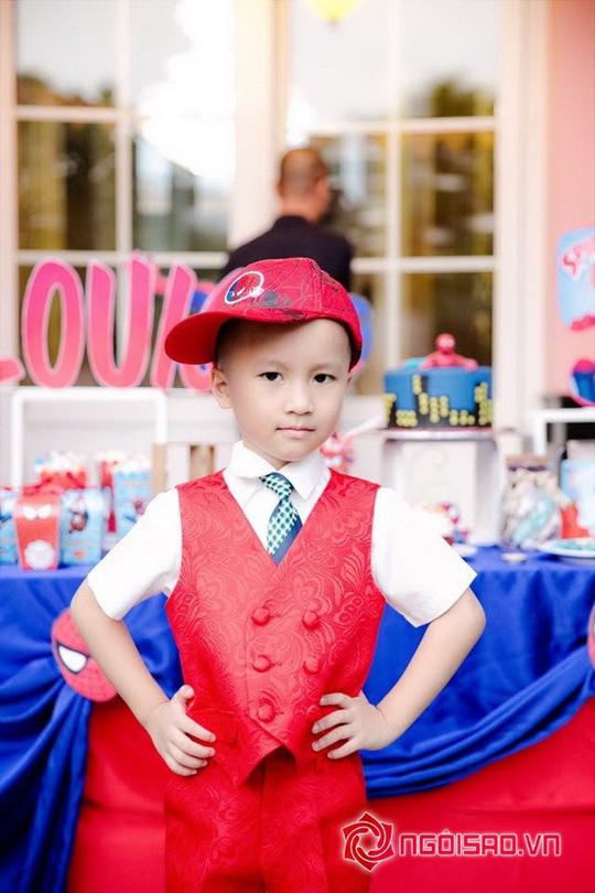 Dàn sao Việt mừng sinh nhật hoàng tử nhà Hoa hậu Bùi Thị Hà - Ảnh 5.