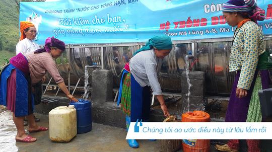 Những hình ảnh đáng nhớ trong hành trình trao tặng nước sạch - Ảnh 6.